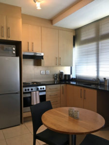 Luxury studio apartment holiday accommodation cape town city